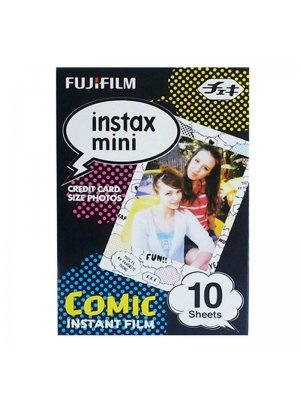Fujifilm Instax Mini Colorfilm Comic (1-Pak)