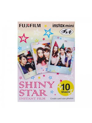 Fujifilm Instax Mini Colorfilm Shiny Star (1-Pak)