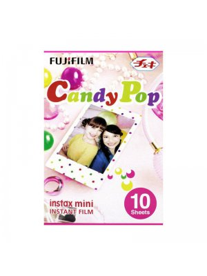 Fujifilm Instax Mini Colorfilm Candy Pop (1-Pak)