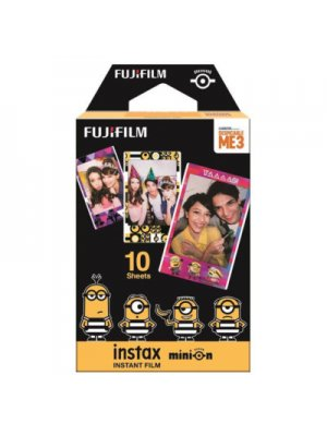 Fujifilm Instax Mini Colorfilm Minion movie (1-pak)