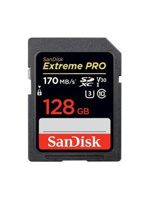 SanDisk 128GB SDXC Extreme Pro UHS-I U3 170MB/s V30