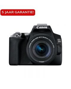 Canon EOS 250D zwart + 18-55mm iS STM COMPACT