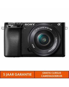 Sony A6100 body zwart + 16-50MM F/3.5-5.6 OSS